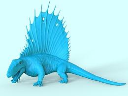 远古食肉龙3D打印模型