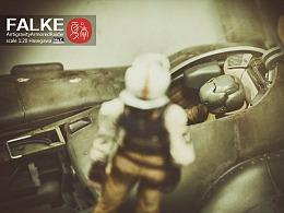 MA.K科幻系列 长谷川 1:20 反重力飞行器