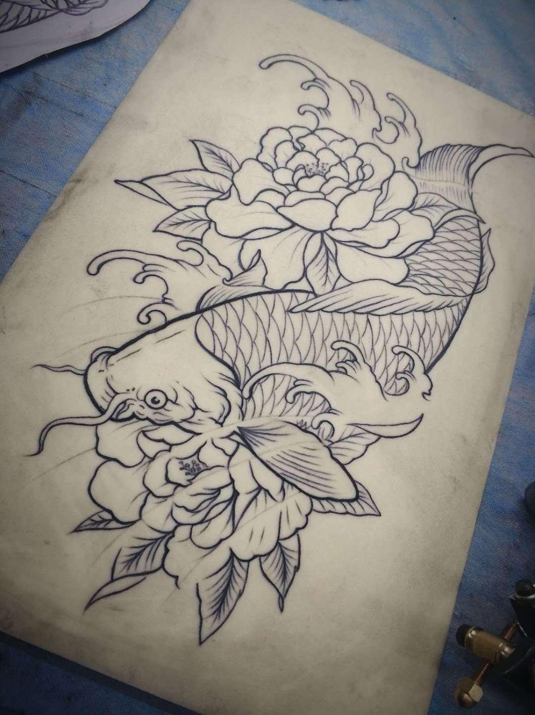 大鲤鱼 1|手工艺|其他手工|_小鱼干儿 - 原创作品图片