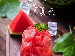 水果拍摄 西瓜