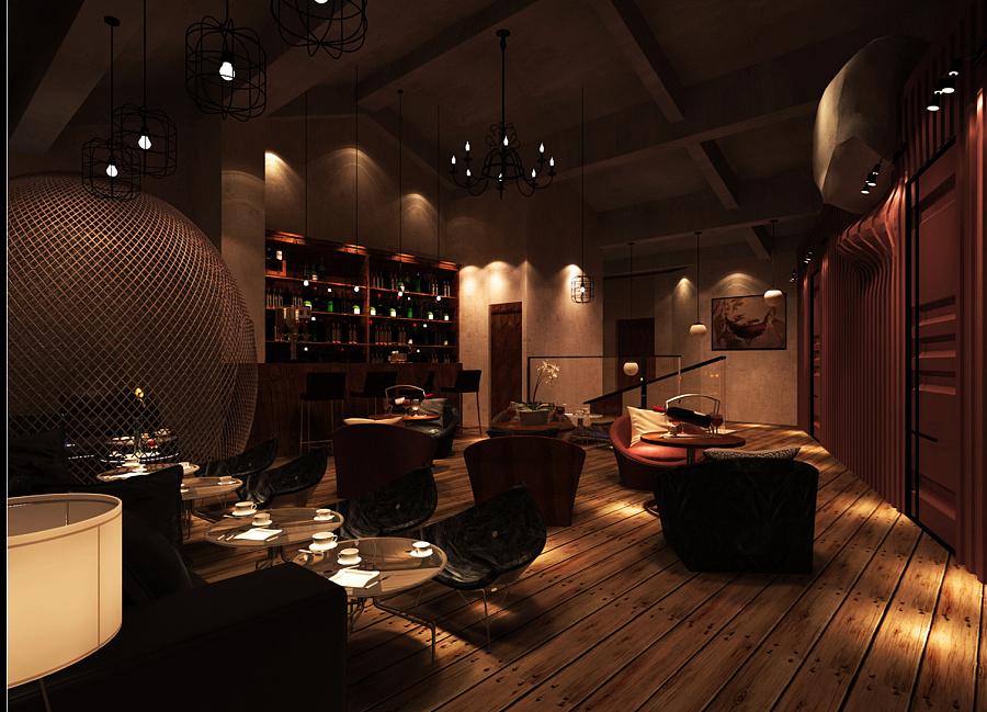 西餐厅|室内设计|空间/建筑|秋琳
