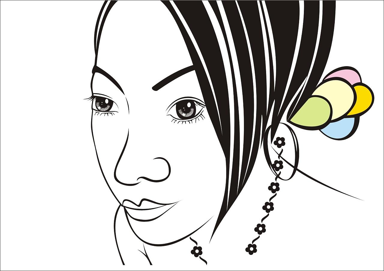如何画卡通自画像 如何画自己的卡通自画像图片