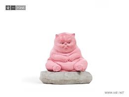 觉一FONE/混凝土水泥摆件【猫·CAT 】