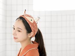 小狐狸萌系束发带