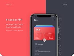 Bank Cards Arrangement App