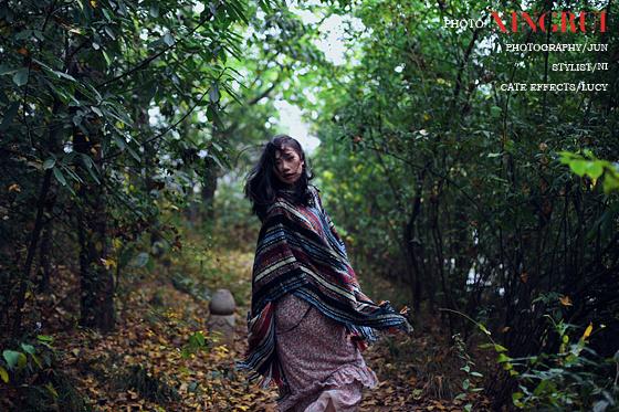 森林系女孩