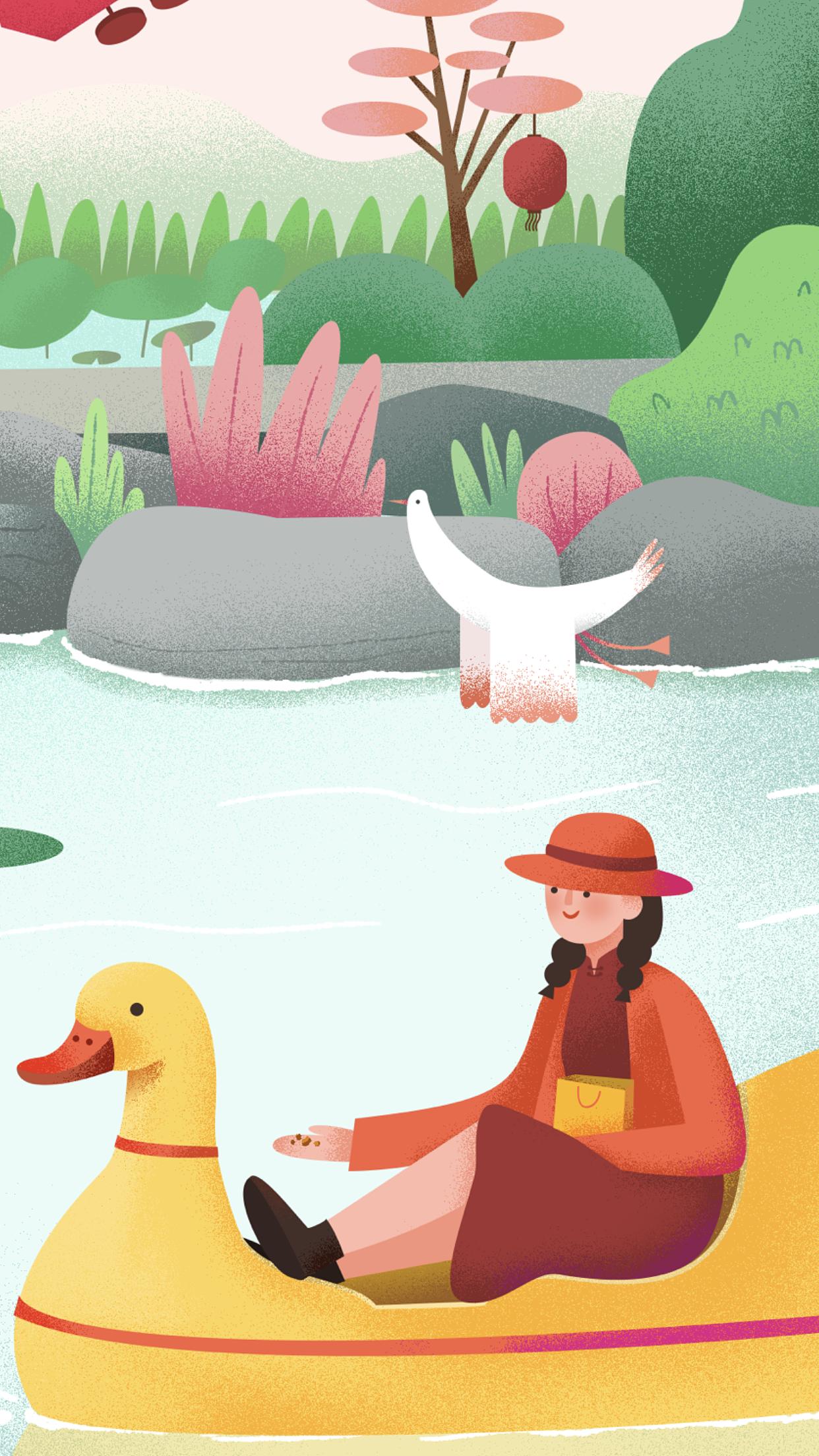 oo音乐_西溪湿地春节音乐会(主KV)|插画|插画习作|一OO九 - 原创作品 ...