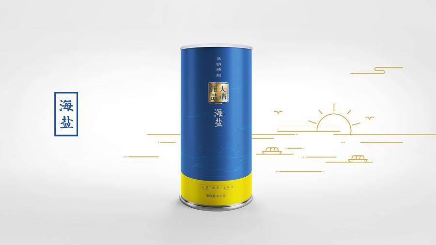 苏盐-大清淮盐包装|包装|平面|老一川 - 原创设计