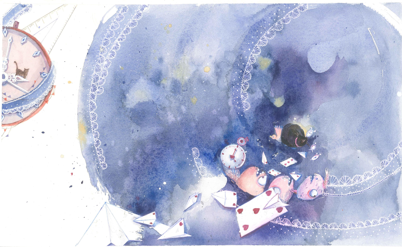 漩涡博人手绘彩铅