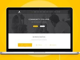 国外教育平台设计网站