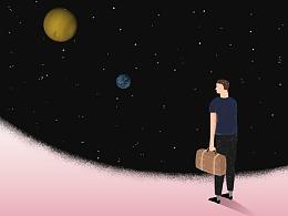繁星如许,孤独如我