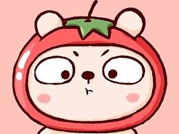 冷兔baby——水果壁纸