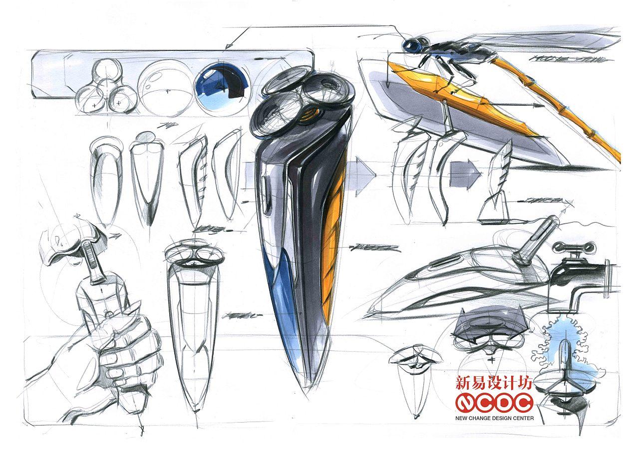 工业设计考研手绘临摹范稿(一)|工业/产品|电子产品图片