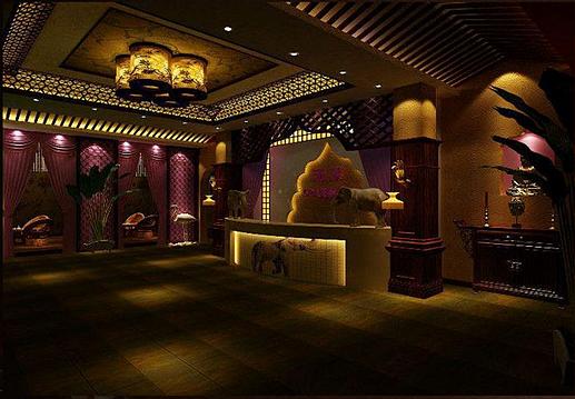 丽江足浴会所设计 丽江足浴会所装修设计 丽江足浴会所设计公司—泰式图片
