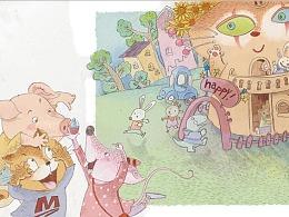 阿笨猫系列-会飞的幼儿园