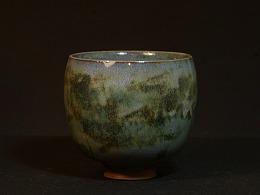烧出来的青绿山水——葛鹏涛陶艺作品