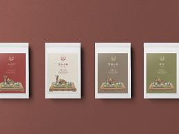 中国风武夷山茶叶包装设计