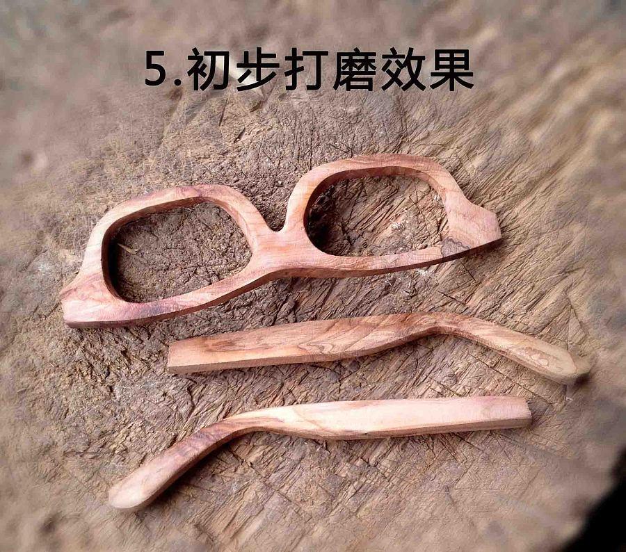 手工实木眼镜|首饰|手工艺|在外