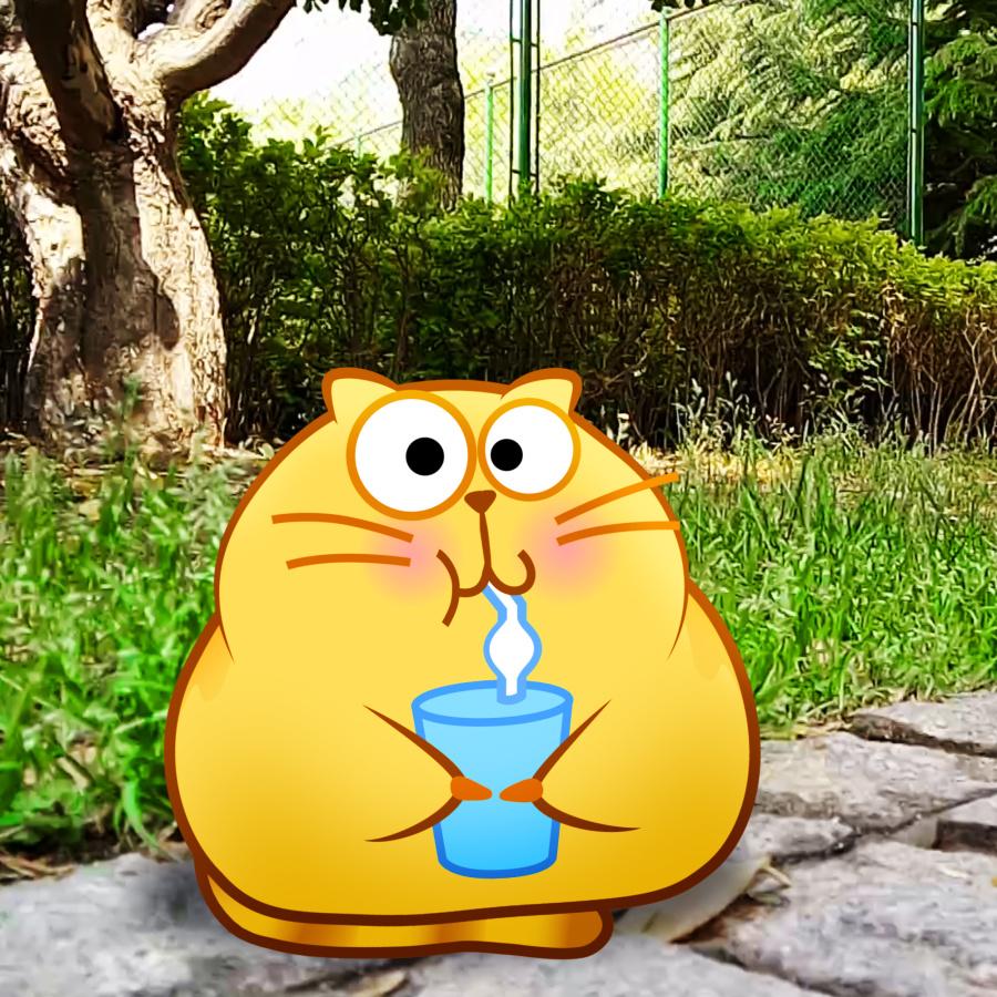 开心原创猫网络~ 表情表情包踩回空间动漫 动画 李纬一-偶遇设图片