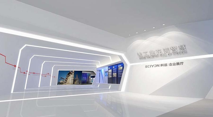 成都企业展厅装修设计 科迈企业展厅