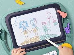 儿童多功能画板