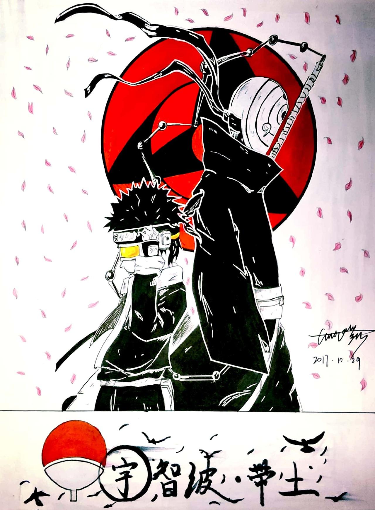 马克笔手绘|动漫|单幅漫画|kaikaiho - 原创作品