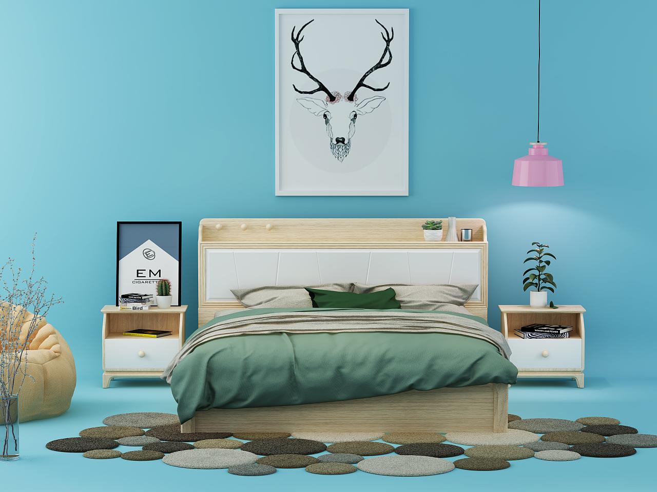北欧风格套房系列图片