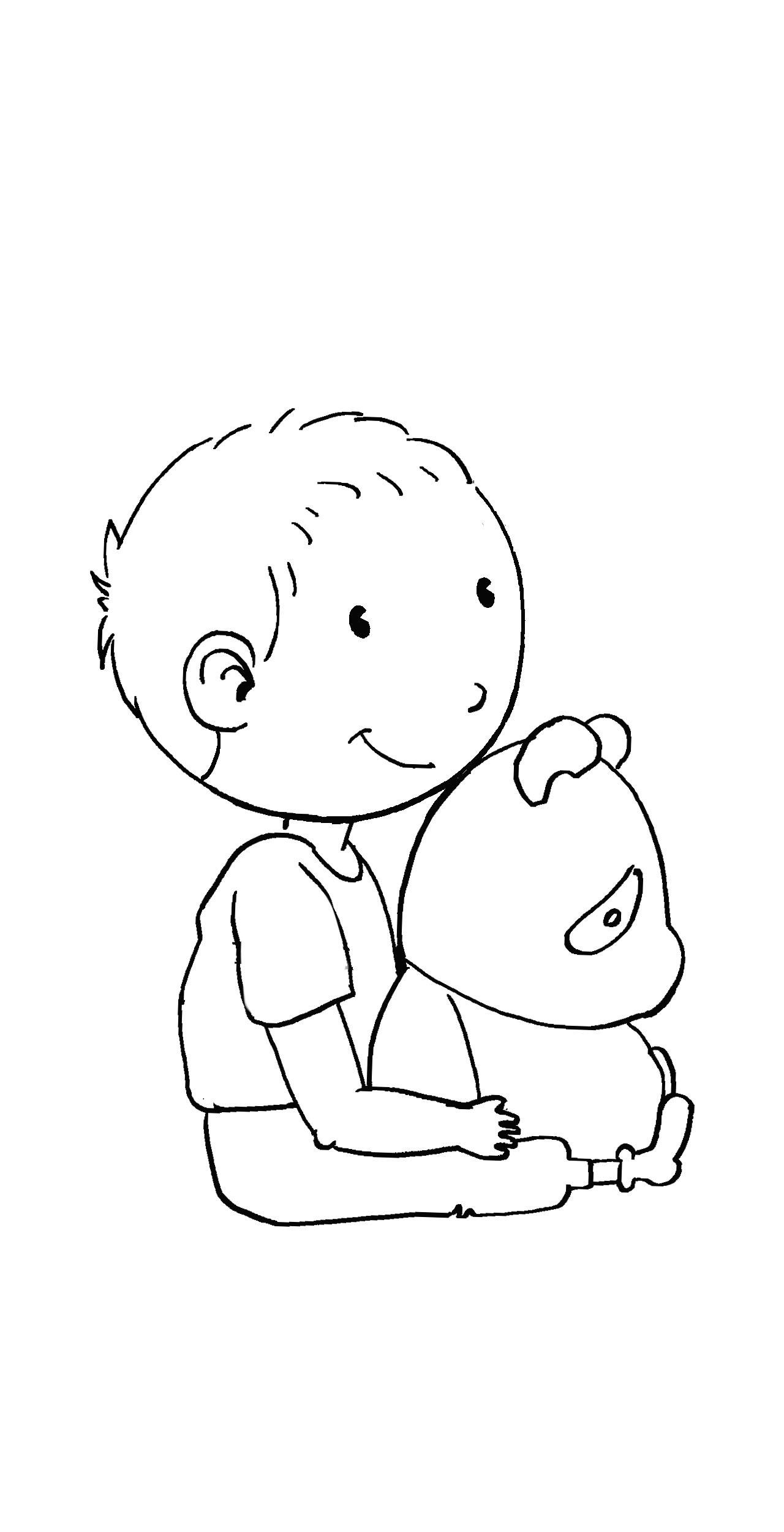 q版人物设计|插画|儿童插画|邓静 - 原创作品 - 站酷