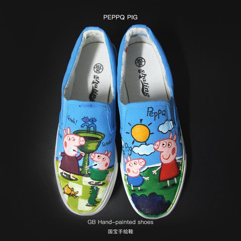 原创作品:手绘鞋