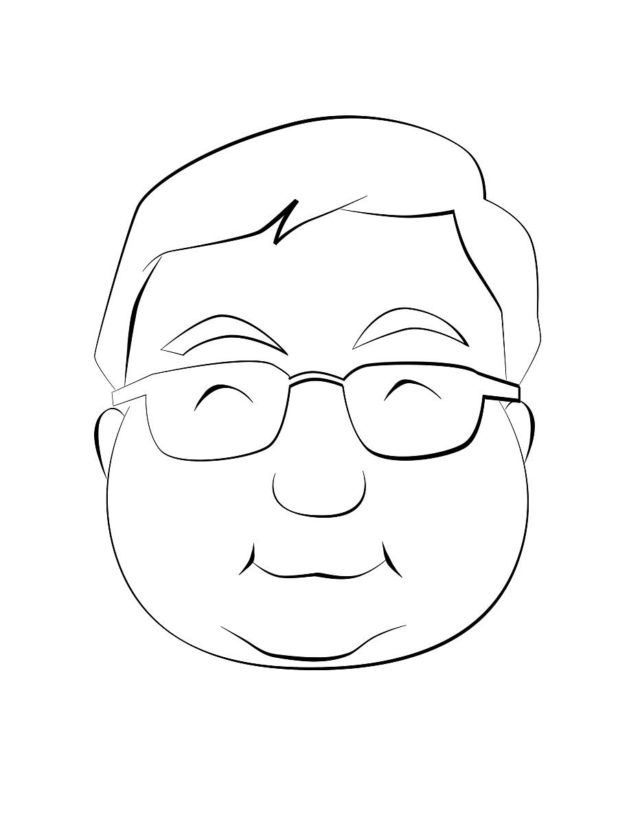 手绘卡通头像|商业插画|插画|杰能