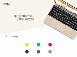天财宝网站设计
