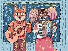 狐狸和野百合