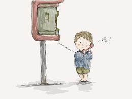 儿童绘本《通天电话机》