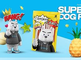 Supperdog宠物包装设计