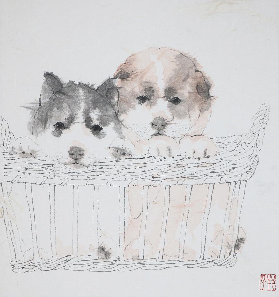 查看《狗狗系列作品》原图,原图尺寸:2814x2996