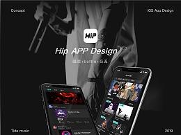 hip app GUI