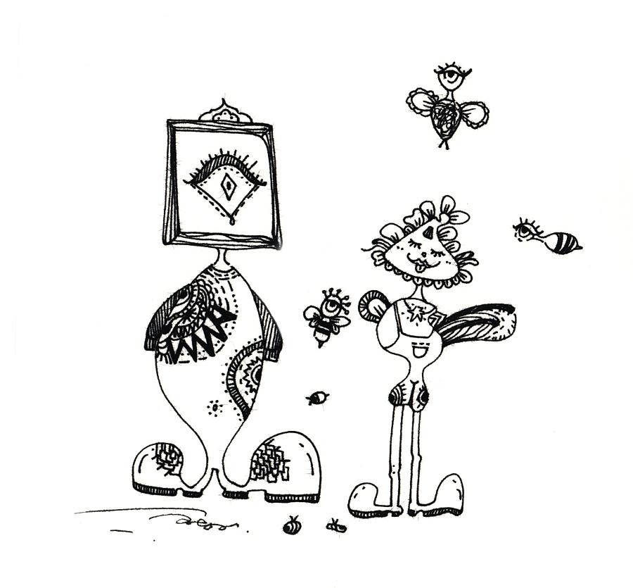原创手绘插画|绘画习作|插画|annieccc