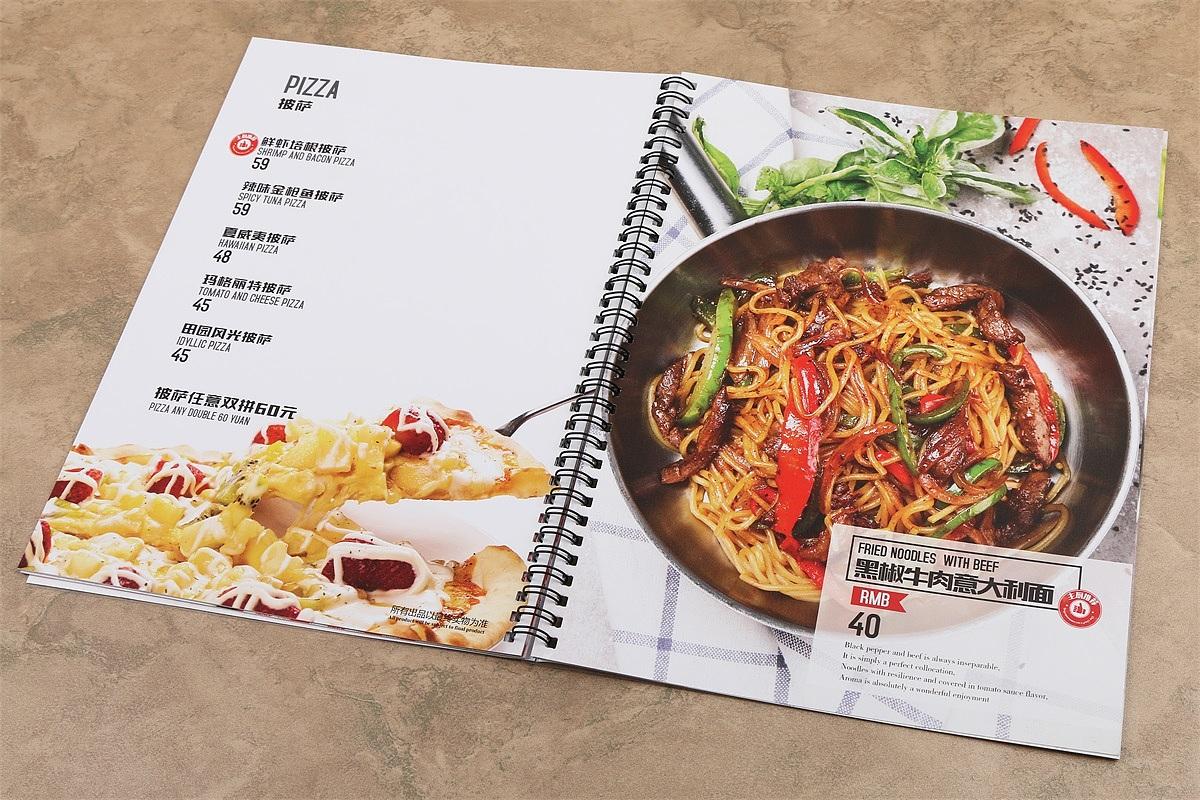 西餐菜单中英文对照