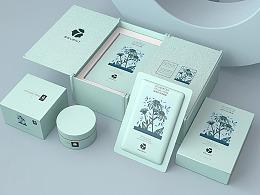 清新|翠嫩|优雅 化妆品包设形象设计