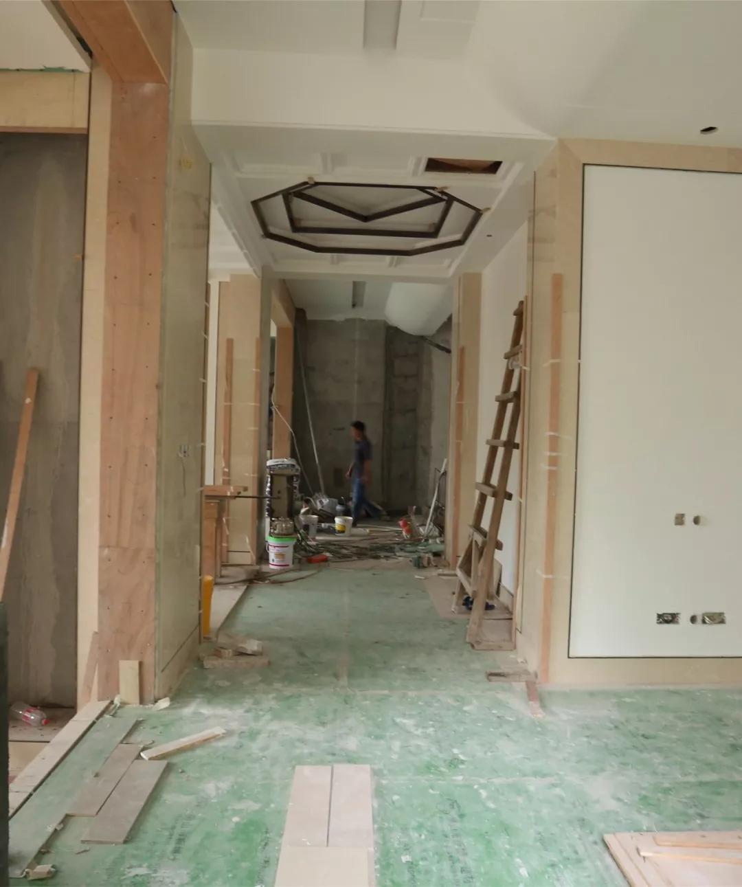 中式别墅设计丨一心设计 · 顺德锦园 · 八角藻井图片