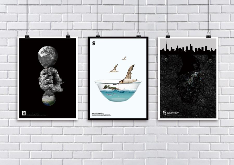 保护地球 公益海报设计|海报|平面|cccc陈某某