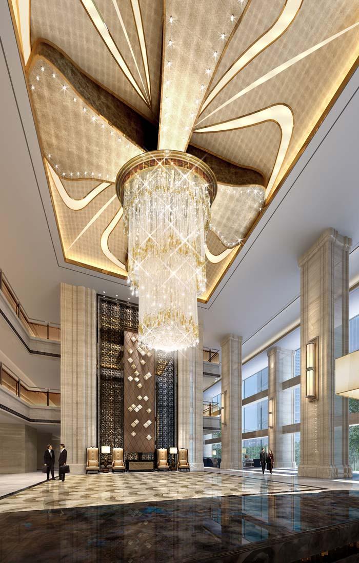 广汉德阳平安国际商务案例装修设计酒店|广汉德阳模板v案例画册设计酒店图片