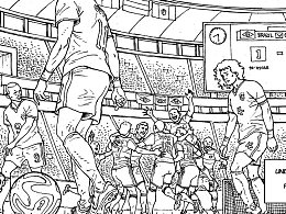 世界杯小漫画几页