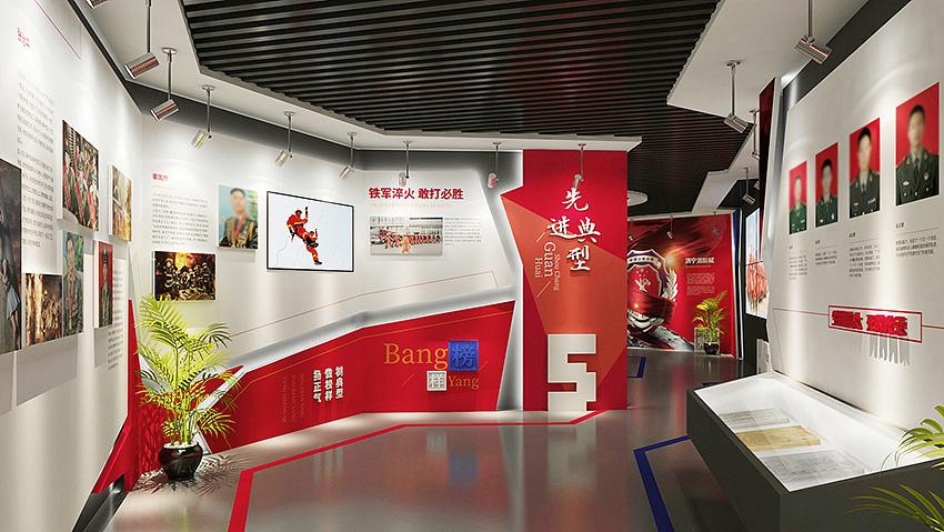 莫言作品_消防党建展厅|空间|室内设计|莫在言问 - 原创作品 - 站酷 (ZCOOL)