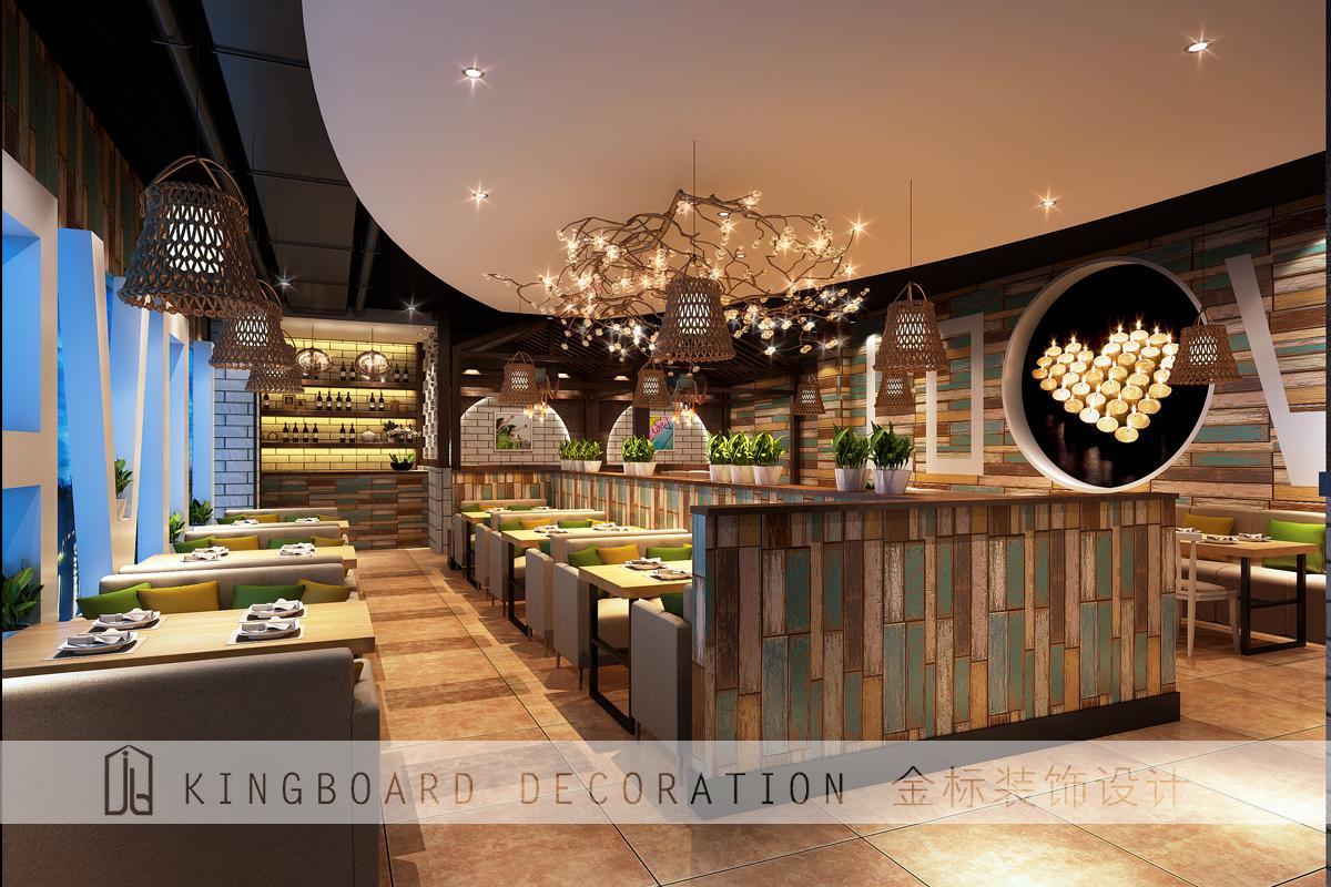 茶餐厅装修:我们分为整个空间设计.图片