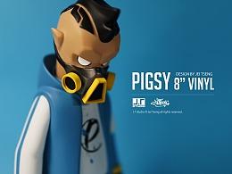 """Pigsy 8""""vinyl"""