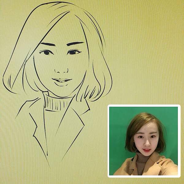 人物肖像漫画