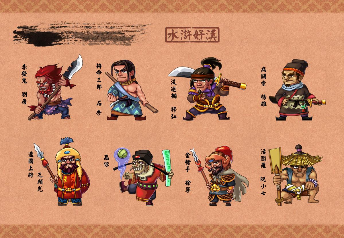 水浒传,第19 22回,主要人物及性格与主要情节图片