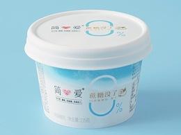 品牌创意『简爱-0%蔗糖椰子酸奶 』✖ YAWHOO