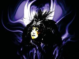 2000年捷杰耶夫歌剧盛典歌剧《黑桃皇后》演出海报设计
